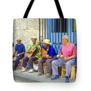 Band Of Locals Tote Bag