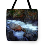 Banded Rock At Livermore Tote Bag