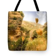 Bandit Country Near The Edge Of The Fan In Ronda Area Andalucia Spain  Tote Bag