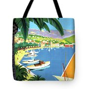Bandol, French Riviera, Boats On Port Tote Bag