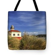 Bandon Coquille River Lighthouse Tote Bag