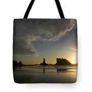 Bandon Sunset 4 Tote Bag