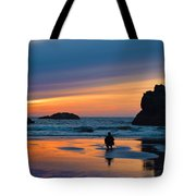 Bandon Sunset Photographer Tote Bag