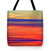 Bands Of Colour Five  Tote Bag