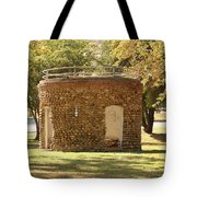 Bandstand Drinking Fountain Tote Bag