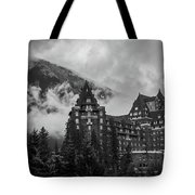 Banff Fairmont Springs Hotel Tote Bag