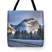 Banff Icefields Parkway Tote Bag
