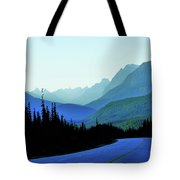Banff Jasper Blue Tote Bag
