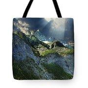 Mount Cory, Banff Tote Bag