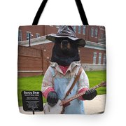Banjo Bear Tote Bag