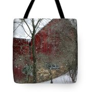 Bank Barn Tote Bag
