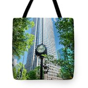 Bank Of America Corporate Center In Charlotte, Nc Tote Bag