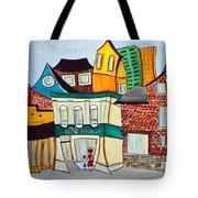Bank Street West Tote Bag