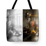 Banker - Worth Its Weight In Gold 1917 Side By Side Tote Bag