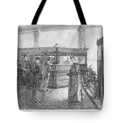 Banking, 19th Century Tote Bag by Granger