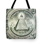 Banknote Detail Tote Bag