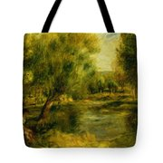 Banks Of The River Tote Bag