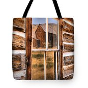 Bannack Reflection In The Past Tote Bag