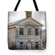 Bannack Schoolhouse And Masonic Temple Tote Bag