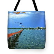 Banners Flying Tote Bag