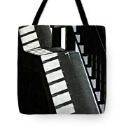 Bannister And Shadows Tote Bag