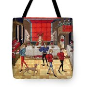 Banquet, 15th Century Tote Bag