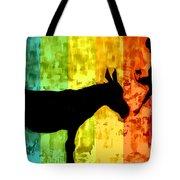 Bansky In Colors Tote Bag