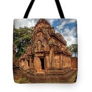 Banteay Srei Mandapa Sanctuary - Cambodia Tote Bag