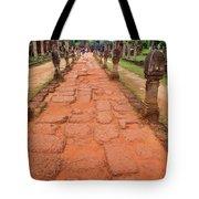 Banteay Srei Red Sandstone Road - Cambodia Tote Bag