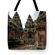 Banteay Srei Temple Tote Bag