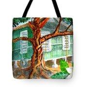 Banyan In The Backyard Tote Bag