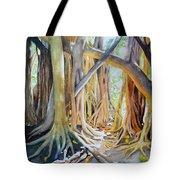 Banyan Shadow And Light Tote Bag