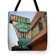 Banyan Tree Motel Tote Bag