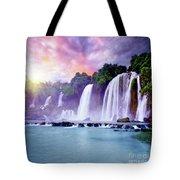 Banyue Waterfall Tote Bag