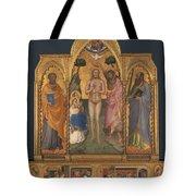 Baptism Altarpiece Tote Bag