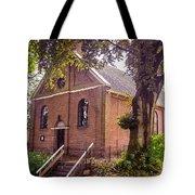 Baptist Church In Giethoorn. Netherlands Tote Bag