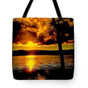 Baptized By Fire Tote Bag
