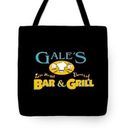 Bar And Grill Sign Tote Bag