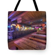 Bar At The Dixie Chicken Tote Bag