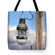 Bar Harbor Lantern Tote Bag