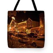 Bar Harbor Nights Tote Bag