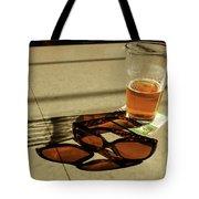 Bar Shadows Tote Bag