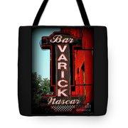 Bar Varick Nascar Tote Bag