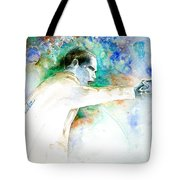 Barack Obama Pointing At You Tote Bag