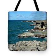 Barbados Coast Tote Bag