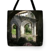Barbados Ruins Tote Bag