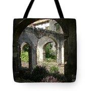 Barbados Ruins Tote Bag