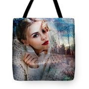 Barbara Future Portrait Tote Bag