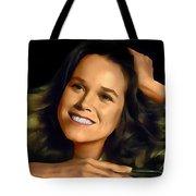 Barbara Hershey Tote Bag