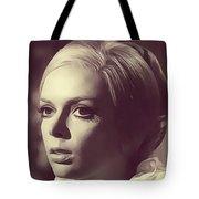 Barbara Steele, Vintage Actress Tote Bag
